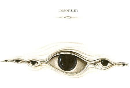 page resonum from graphic suite SENTENTIA SUBINTRA 版權商用圖片