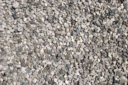 gravelly: Gravel Road Surfaces Texture Backgrounds, Texture 7 Stock Photo