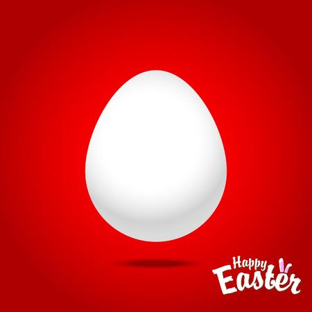 Easter eggs for design of Easter holidays. Vector illustration Stock Photo