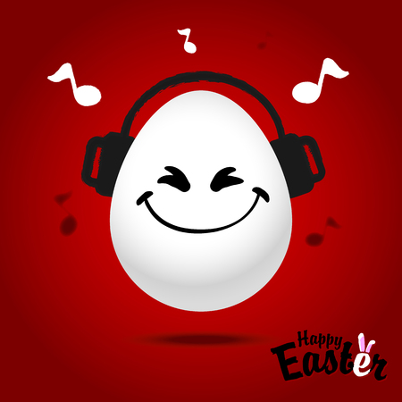 Easter eggs for design of Easter holidays. Vector illustration Illustration