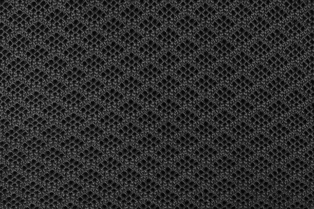black, knitted fabric. background texture