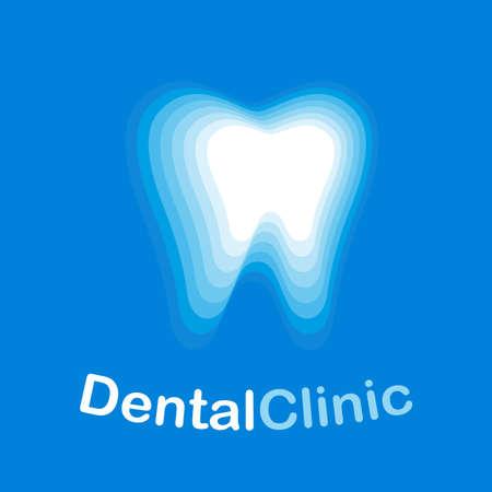 Dental health Clinic Concept Template illustration