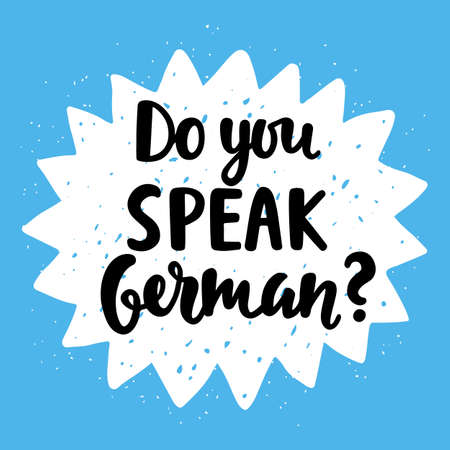 polyglot: Do you speak German