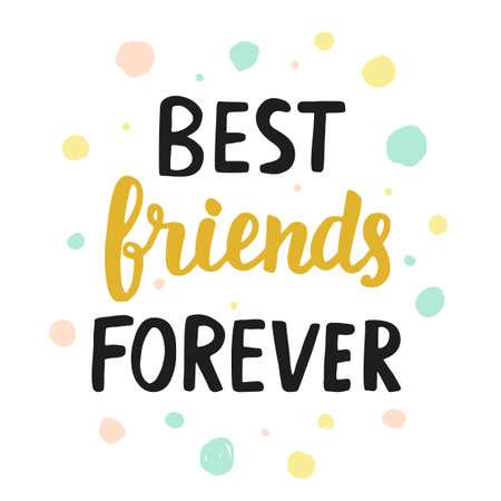 Beste vrienden voor altijd