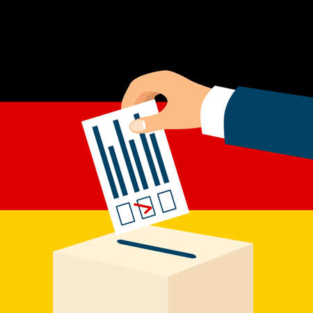 Election in Germany concept