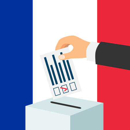 Election in France concept