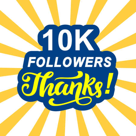10000 followers thanks