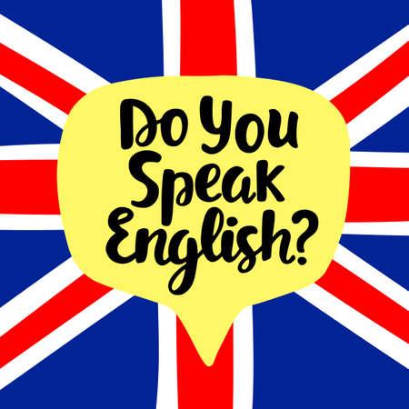 Parlez vous anglais Banque d'images - 81517876