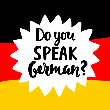 ドイツ語を話す