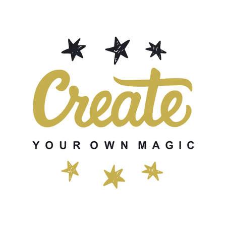 独自の魔法を作成します。