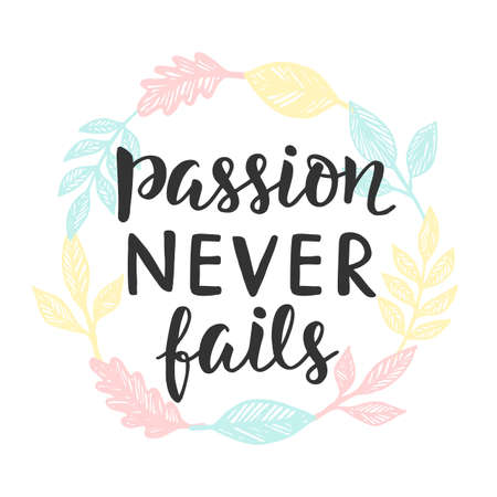 Passion Never Fails poster
