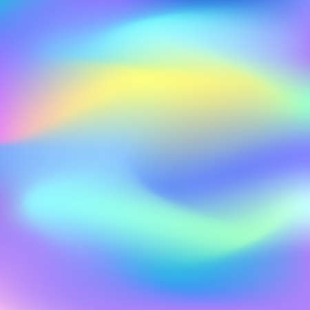 Holographic abstract background. Cosmic surreal texture. Vector illustration in neon colors, 80s 90s trendy style design. 일러스트