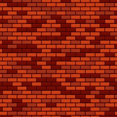 レンガの壁のシームレス パターン