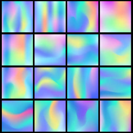 Holographic abstract backgrounds big set