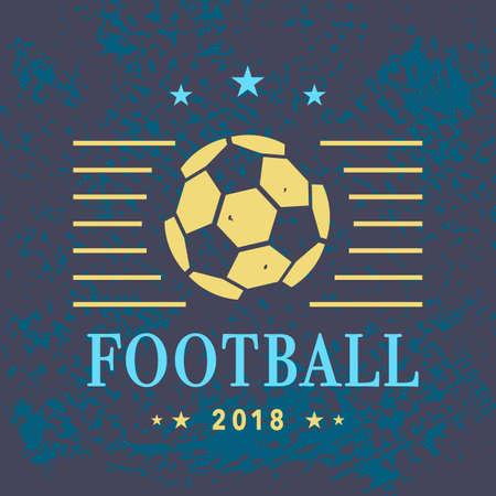 Vector Football Logo Template
