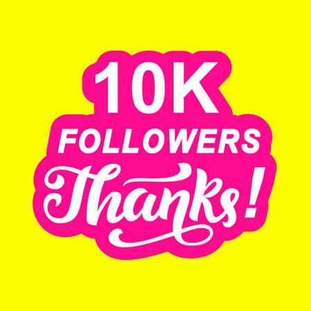 10000 followers thanks