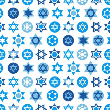 青のダビデの星記号、テキスタイル、壁紙、web ページの背景のコレクションです。