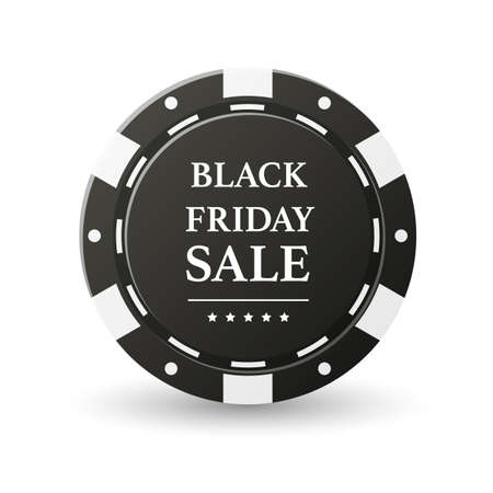 Black Friday Sale Banner Design Template Stock Photo