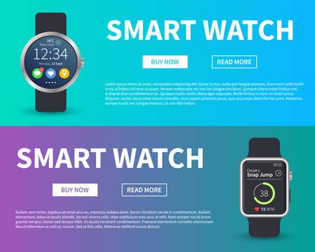 High technology watch concept.