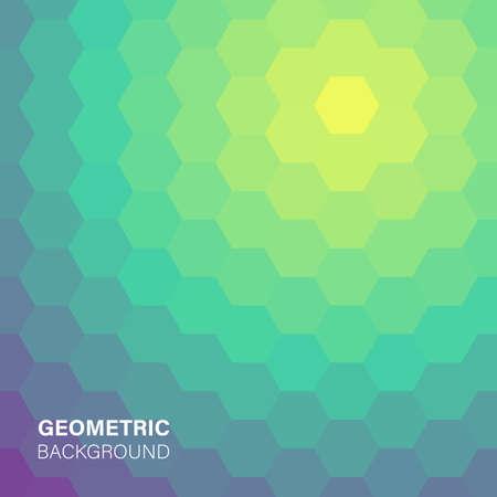 Modern futuristic abstract geometric cover illustration. Illustration