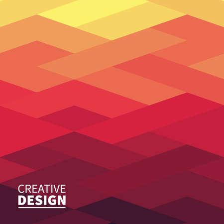 現代未来的な抽象的な幾何学的カバー  イラスト・ベクター素材