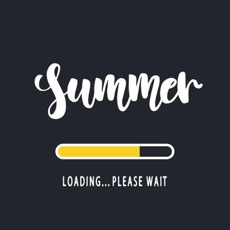 Summer loading, please wait