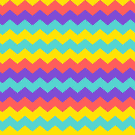 Modern chevron zigzag pattern background Stock Illustratie