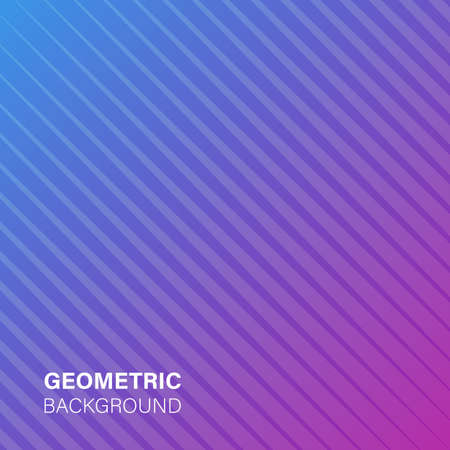 Modern abstract geometric cover. Minimal colorful trendy template design