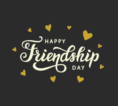 Happy Friendship Day cute poster