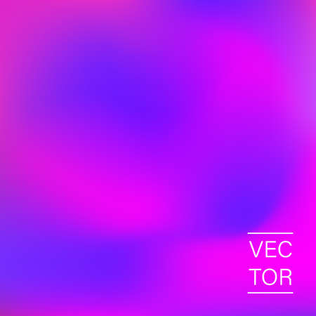 Ultra violet holographic fashion cover 向量圖像