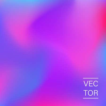 Cubierta de moda holográfica ultravioleta