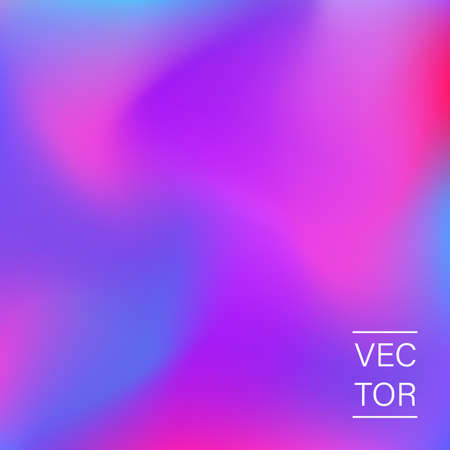 Ultra violet holographic fashion cover Stock Illustratie