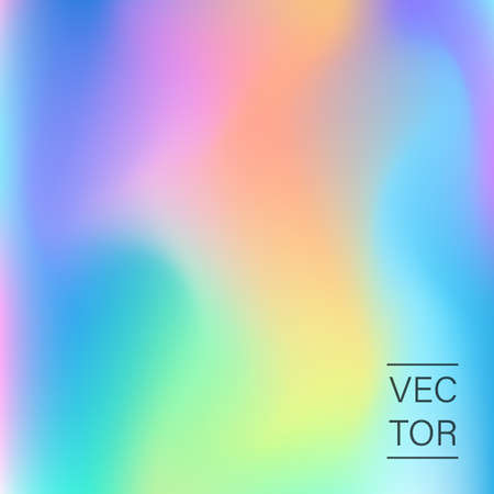 Holographic fashion pastel abstract background