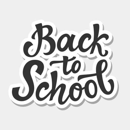 Back to school banner template Vettoriali
