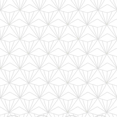 Japanese, Chinese traditional asian geometric seamless pattern Illusztráció