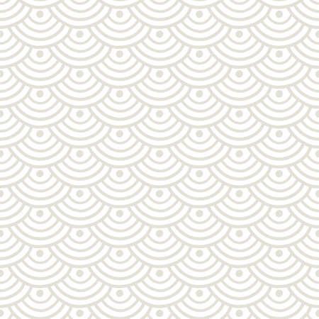 Patrón transparente geométrico asiático tradicional japonés, chino. Textura elegante de rejilla moderna. Fondo de adorno oriental. Ilustración vectorial