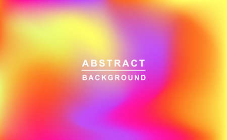 Holographic retro 80s, 90s vector futuristic cover. Abstract poster, flyer template. Mesh gradient shapes. Trendy minimal colorful branding design background. Illustration