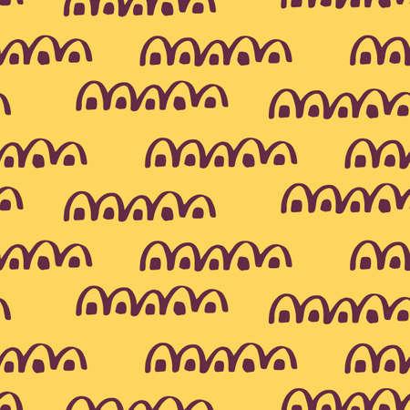 African seamless pattern. Ethnic tribal aztec geometric ornament  イラスト・ベクター素材