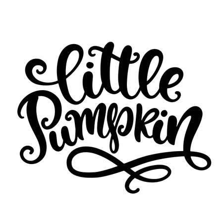 Little Pumpkin. Thanksgiving day, Fall, Halloween Party Poster