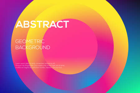 Vector modern futuristic gradient layout, cover