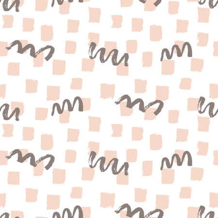 fashion brushes bold seamless pattern