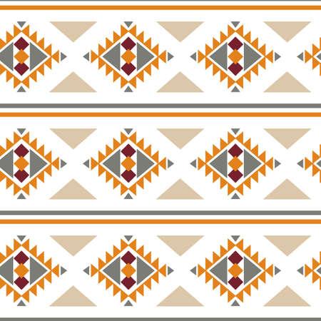 Tribal southwestern native american navajo seamless pattern