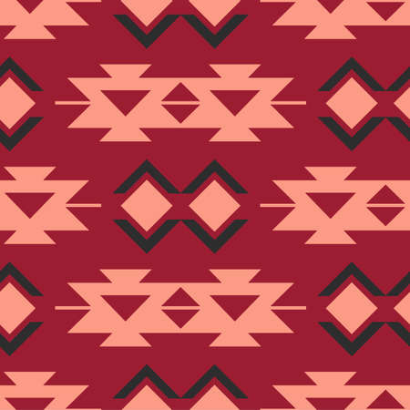 Tribal southwestern native american navajo seamless pattern Stock fotó - 131987322