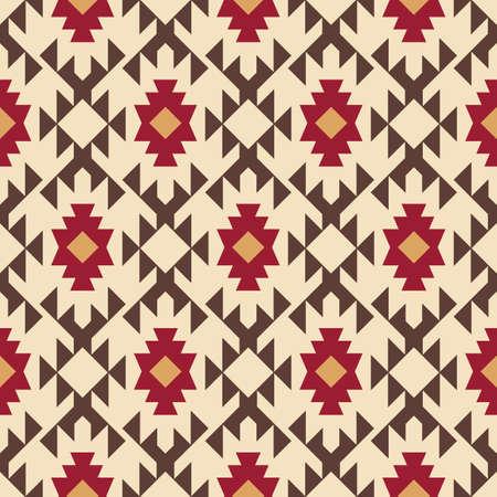 Tribal southwestern native american navajo seamless pattern 版權商用圖片 - 135613690