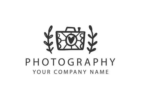Photography badge, Photo Studio emblem