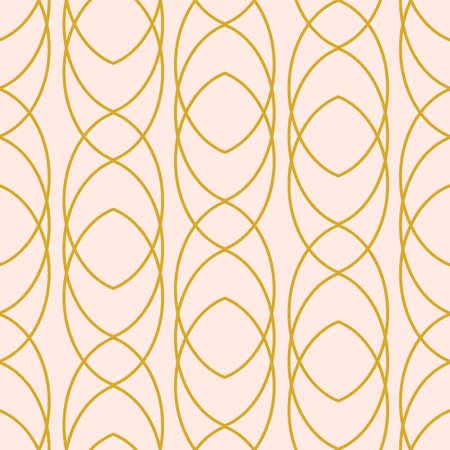 Retro geometric seamless pattern