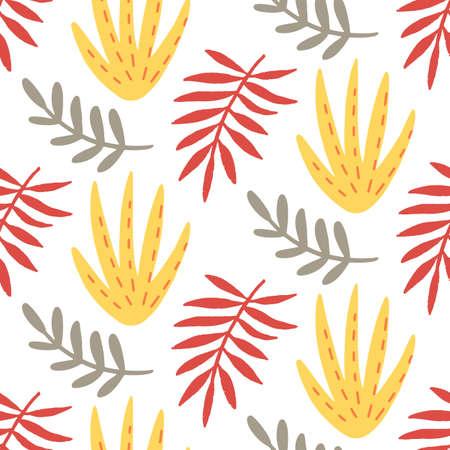 Floral summer beautiful seamless pattern