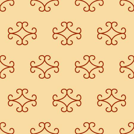 Vector geometric Islamic seamless pattern
