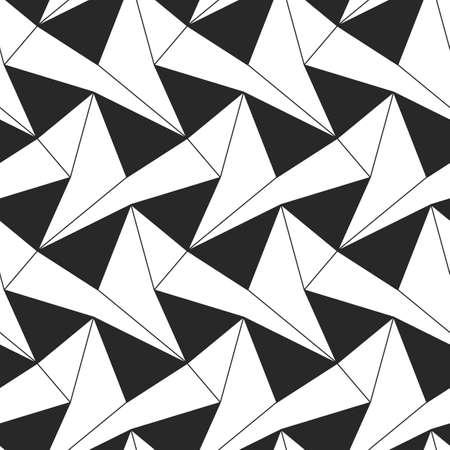 Vector geometric elegant seamless pattern