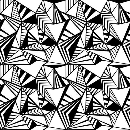 Triangle seamless pattern texture